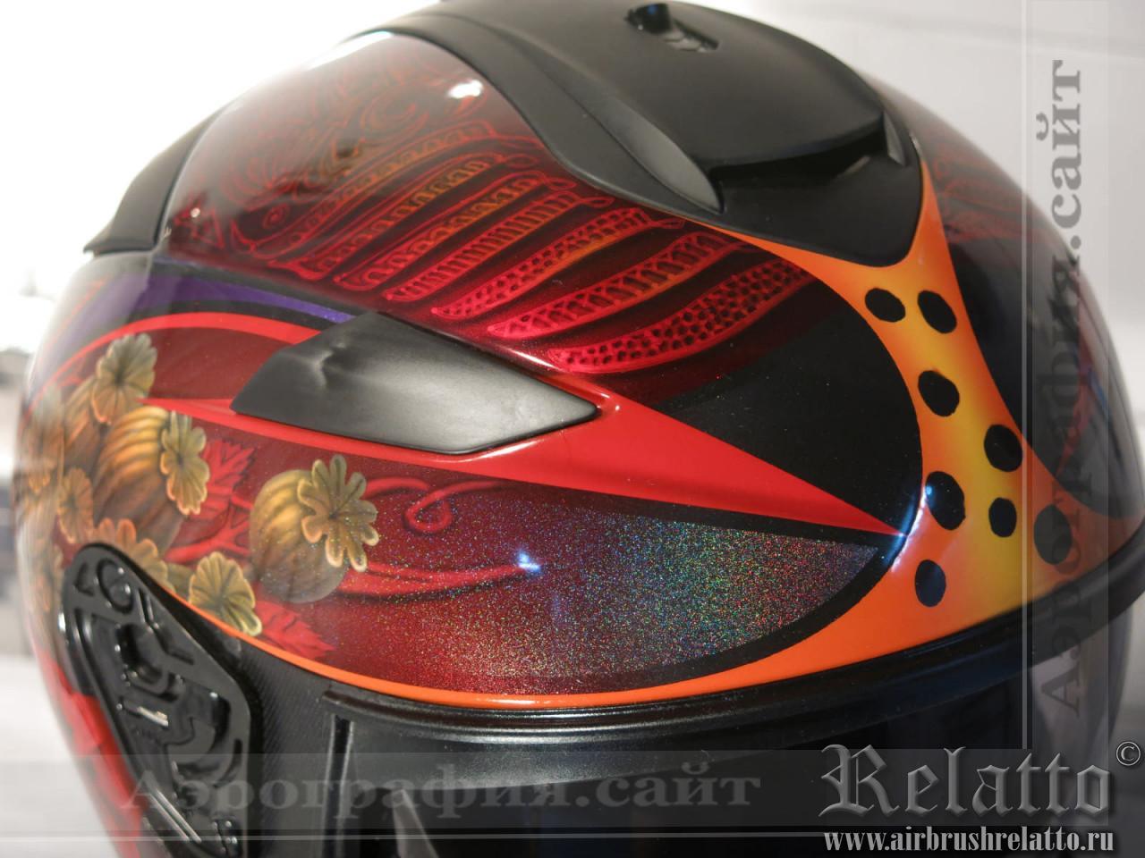 аэрография шлема в Краснодаре