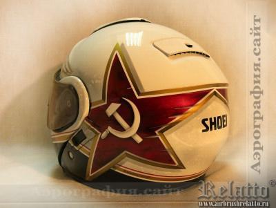 роспись шлема Белгород