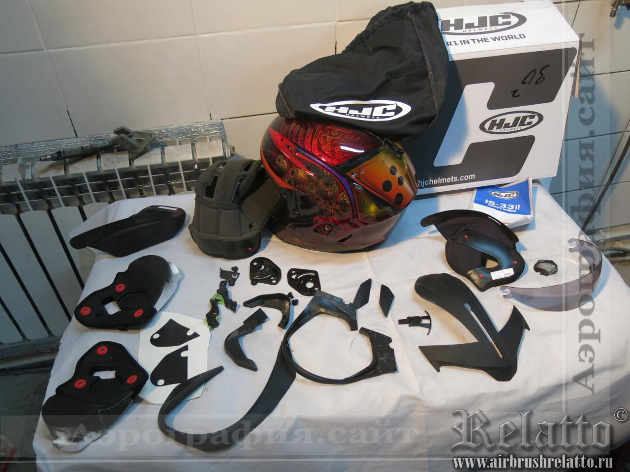 сборка шлема в Краснодаре