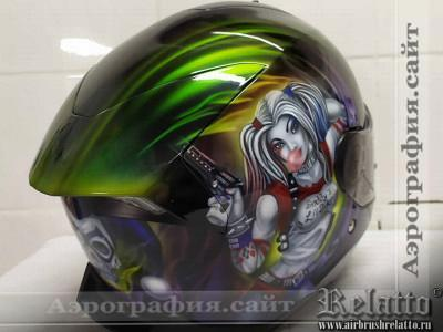 Мото шлем Харли Квинн Relatto