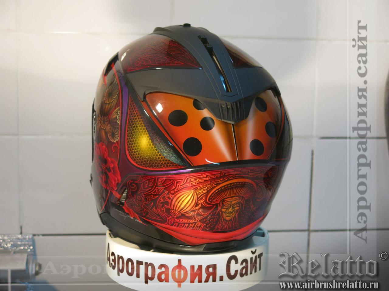 шлем с аэрографией в Краснодаре