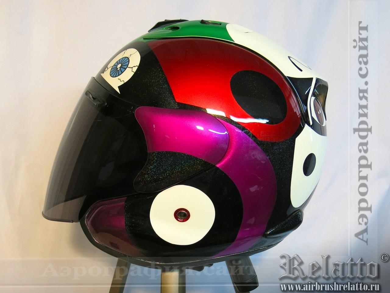 аэрография на  шлеме Arai