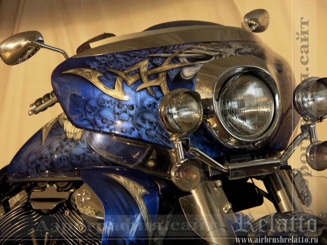 Yamaha Venture в черепах