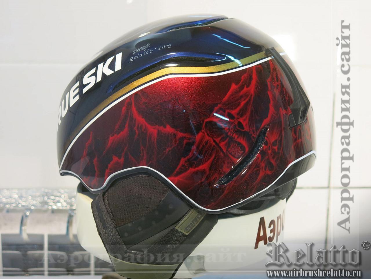 лыжный шлем в Краснодаре
