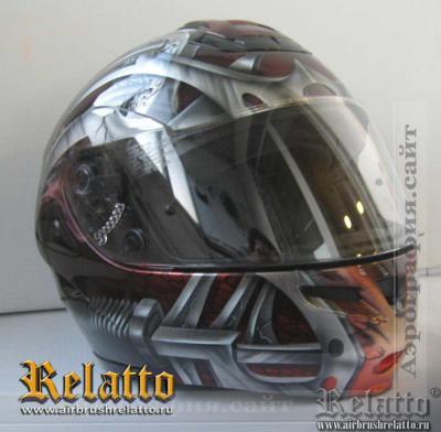 аэрография шлем Краснодар
