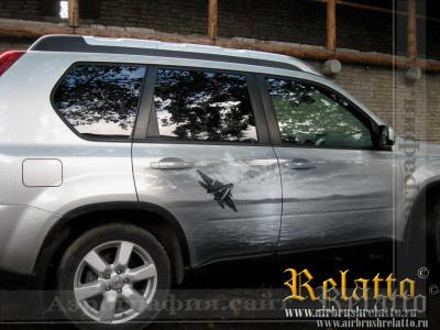 аэрография автомобиля Relatto