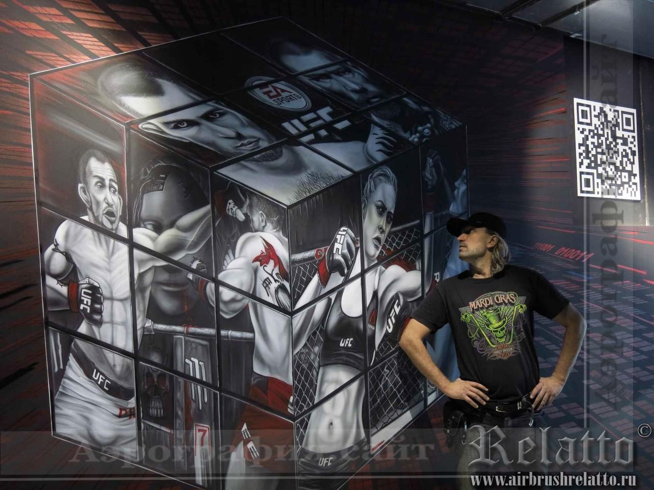 роспись стен художник Белгород