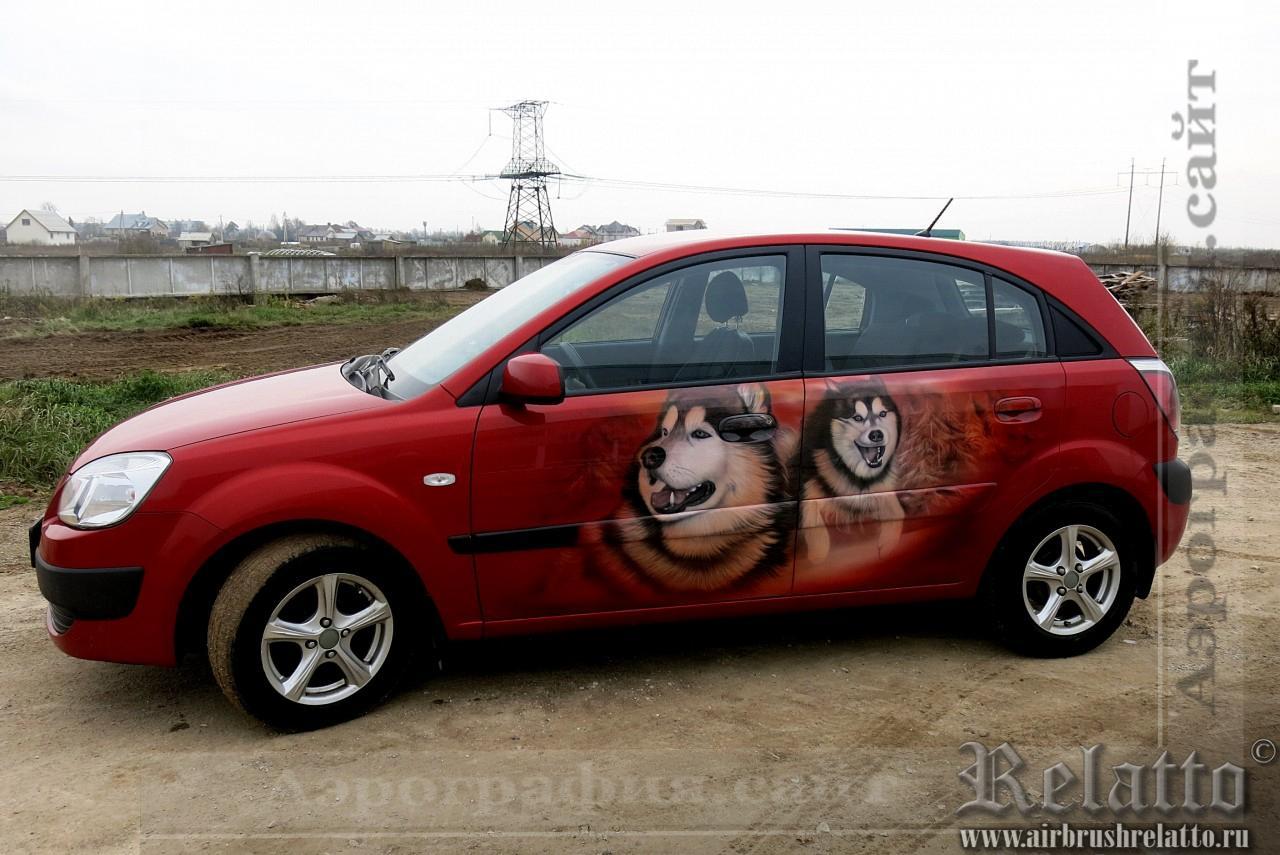 Разрисовка автомобиля - Лайки