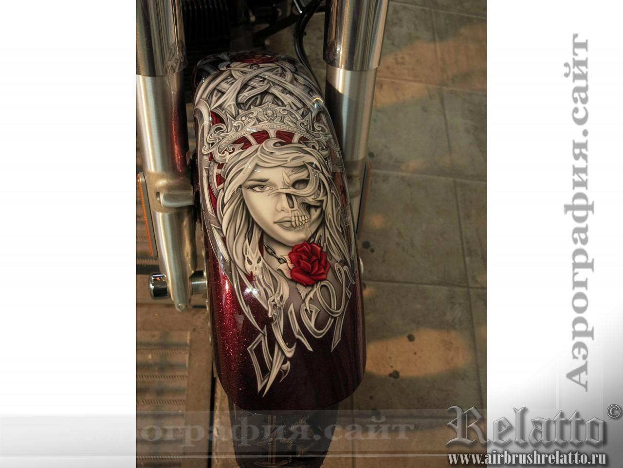 Аэрография Trike Harley Davidson Freewheeler