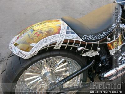Аэрография Harley Davidson Краснодар Relatto