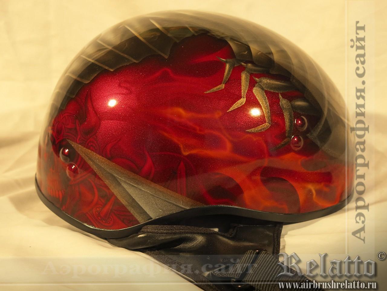 аэрография шлема Белгород