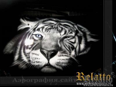 Аэрография Hyundai тигр Белгород
