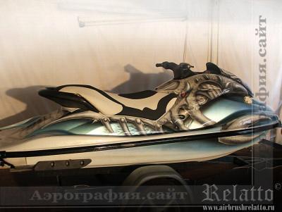 аэрография водного мотоцикла Краснодар