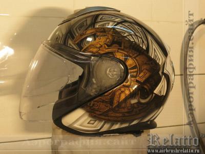 шлем  Schuberth M1 аэрография Relatto