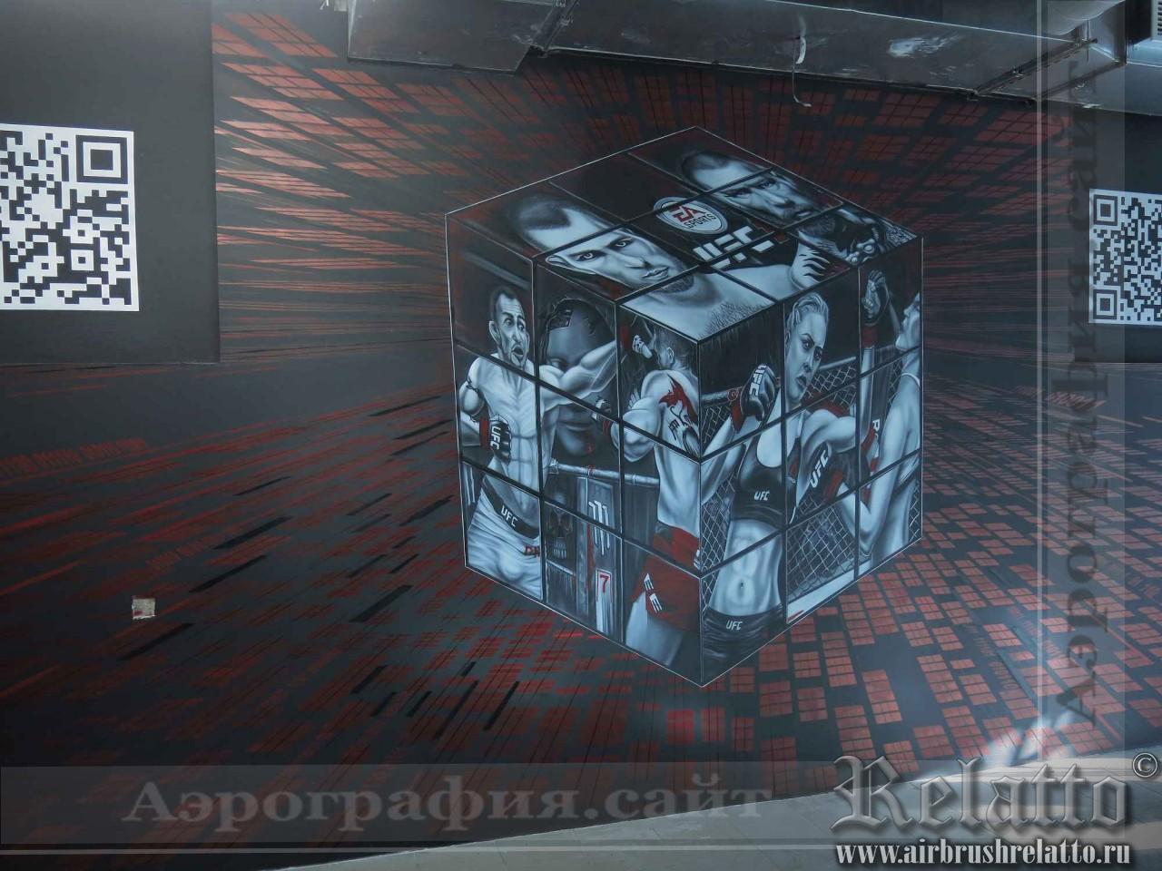 роспись стен ресторана Белгород