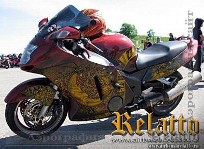 Honda SuperBlackBird 1100. Солнце язычества