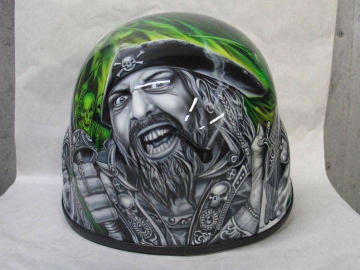 аэрография шлем