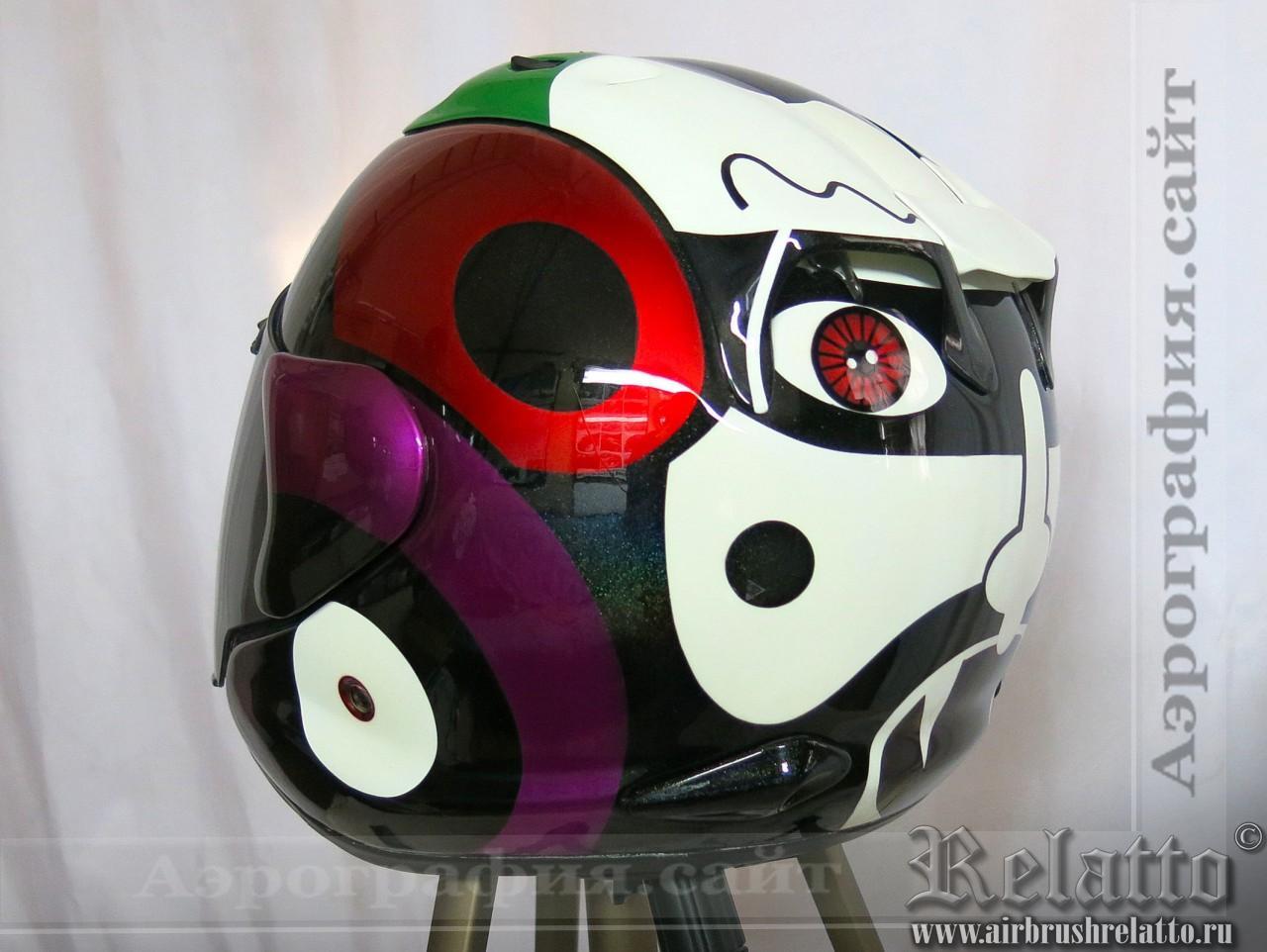 дизайн шлема Arai