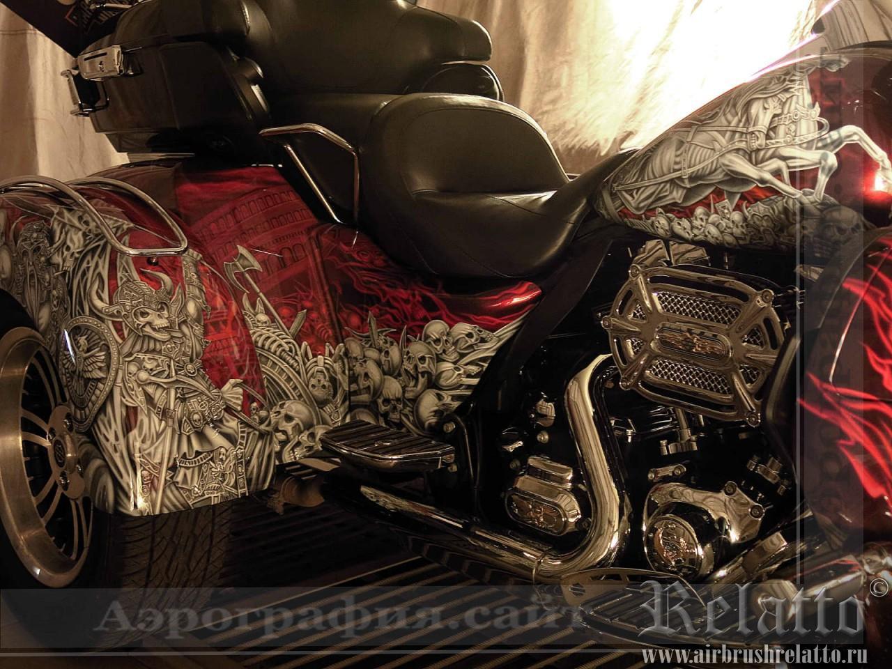 лучшая аэрография мотоцикла Белгород