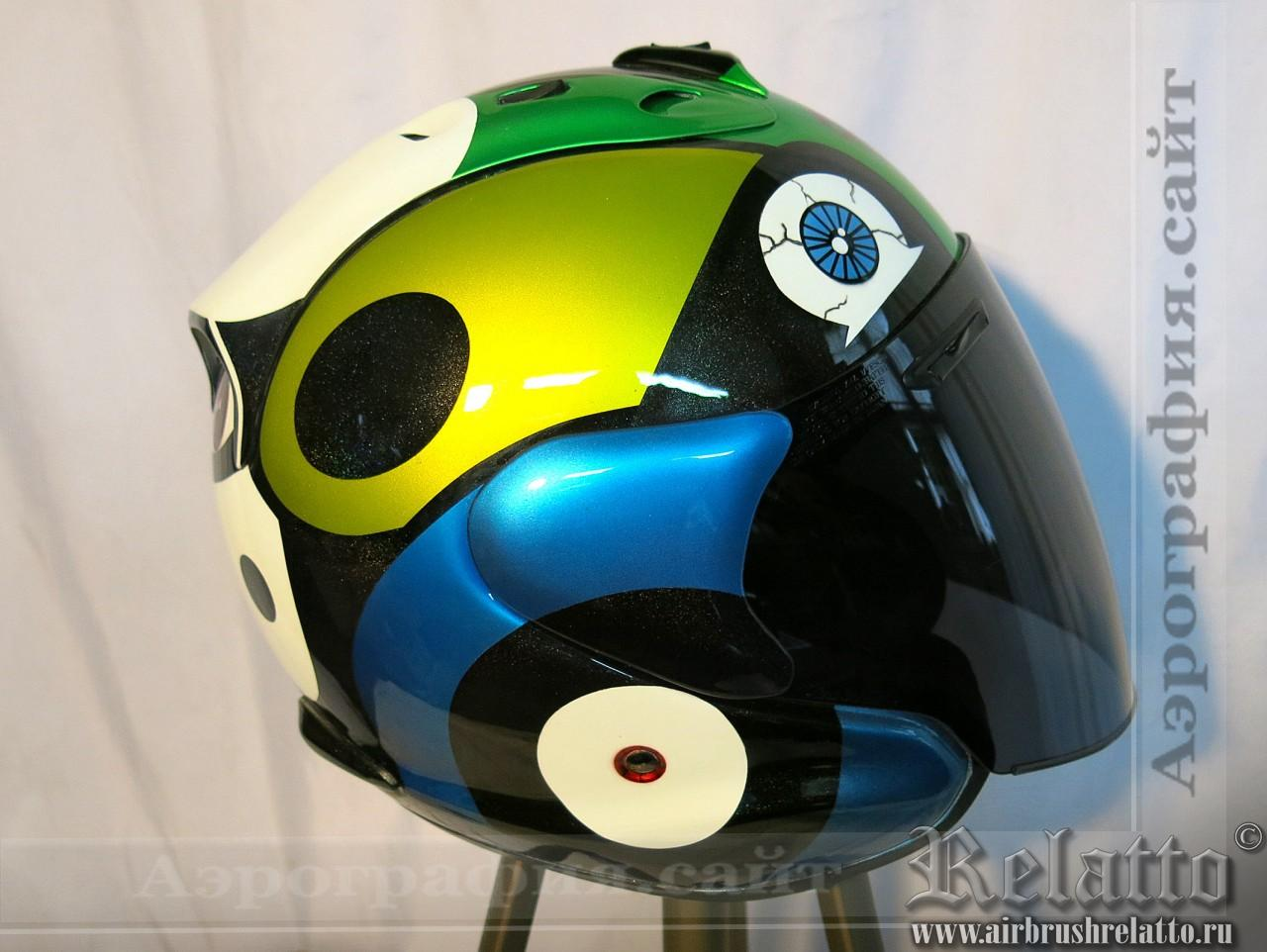 шлем Arai с дизайном
