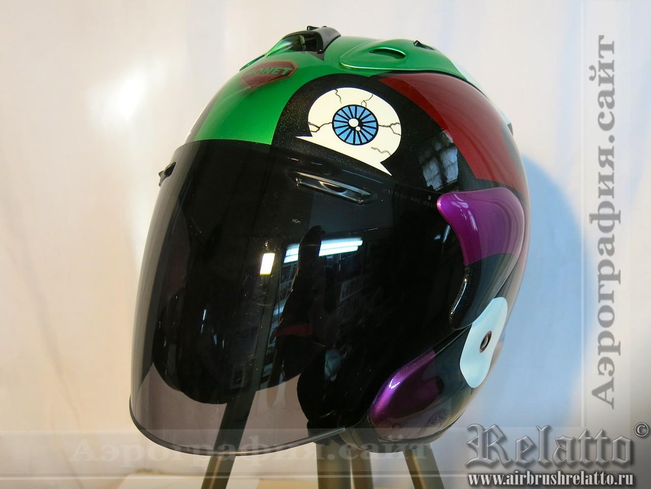 аэрография шлема Arai