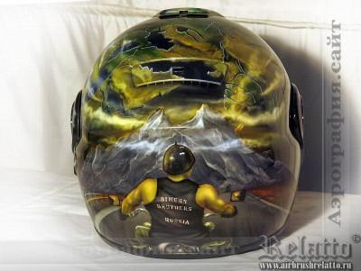 шлема мотоциклиста Relatto