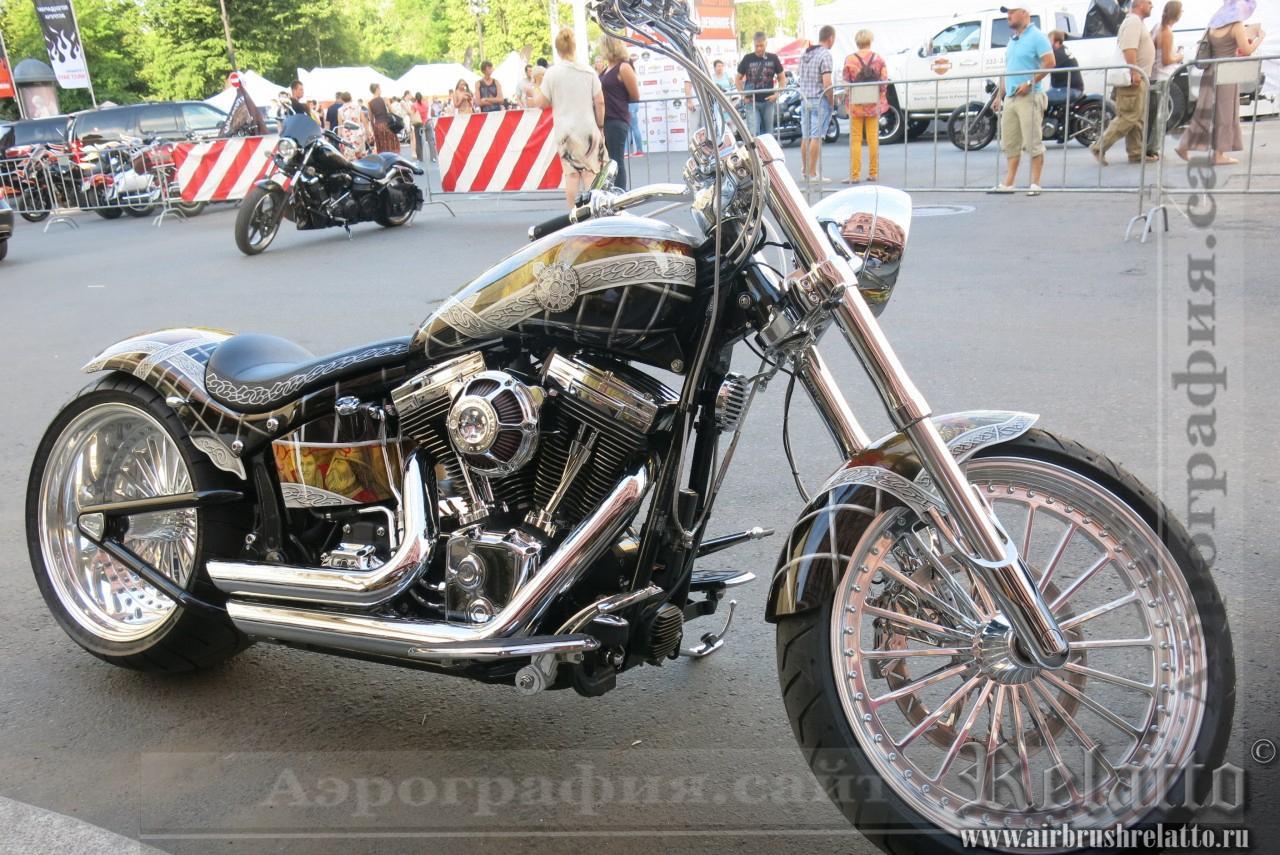 Аэрография Harley Davidson Custom