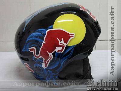 Аэрография на шлема Relatto