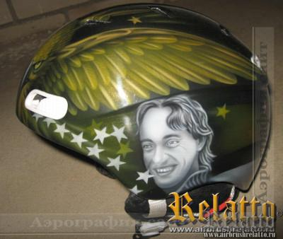 шлем для сноуборда.