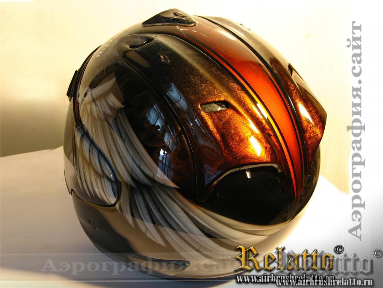 шлем аэрография Rolling