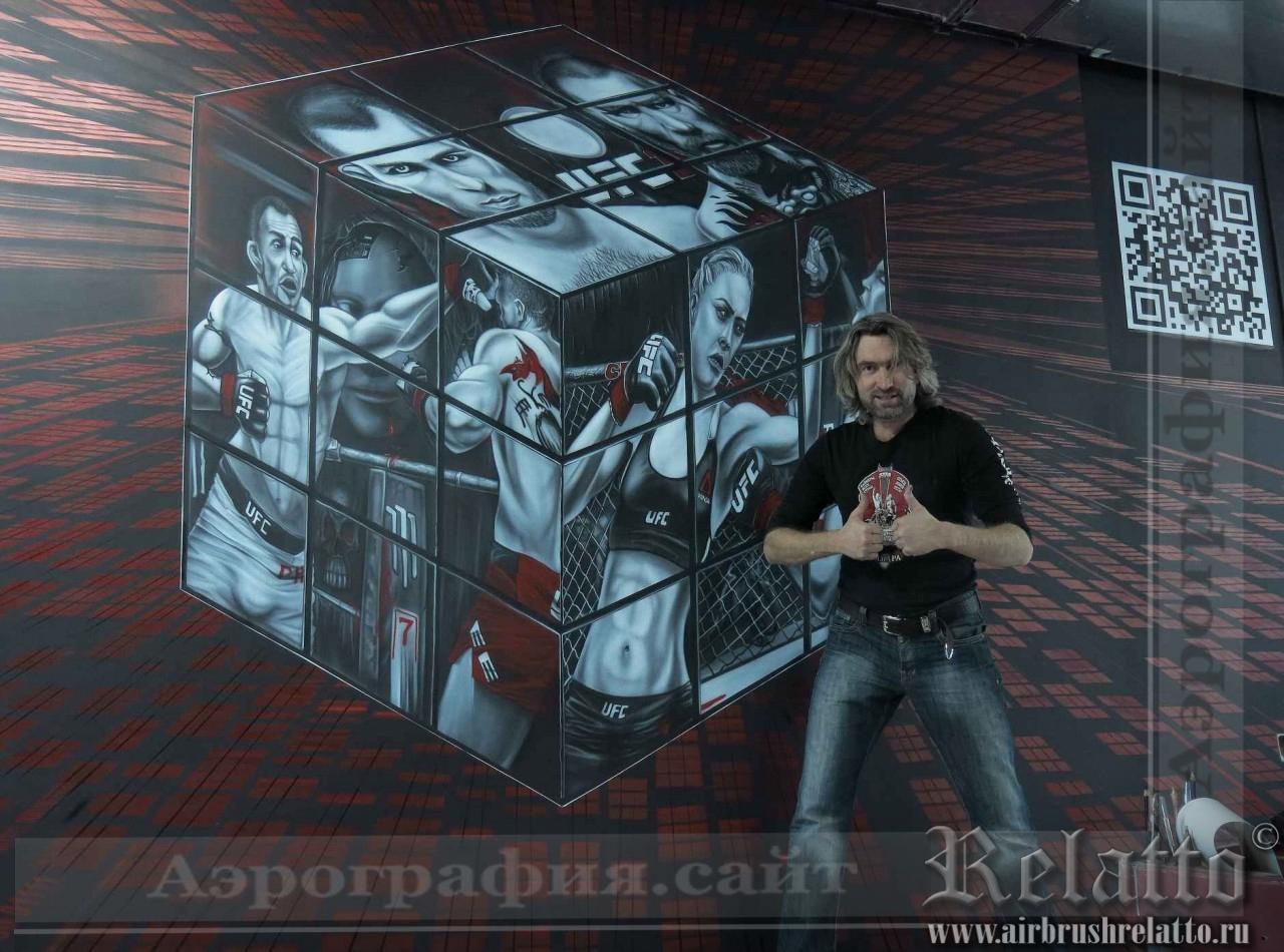 роспись стен игровой Белгород