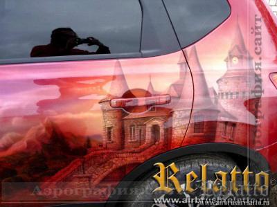 Аэрография Nissan Qasqhai Relatto