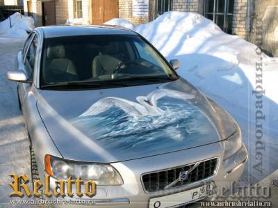Аэрография Volvo Краснодар