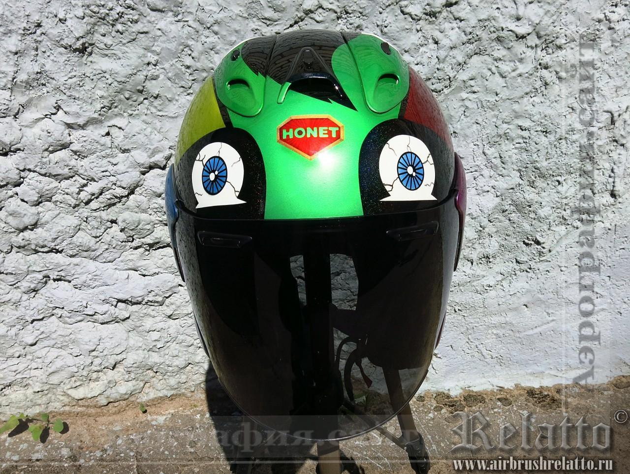 дизайн мотошлема