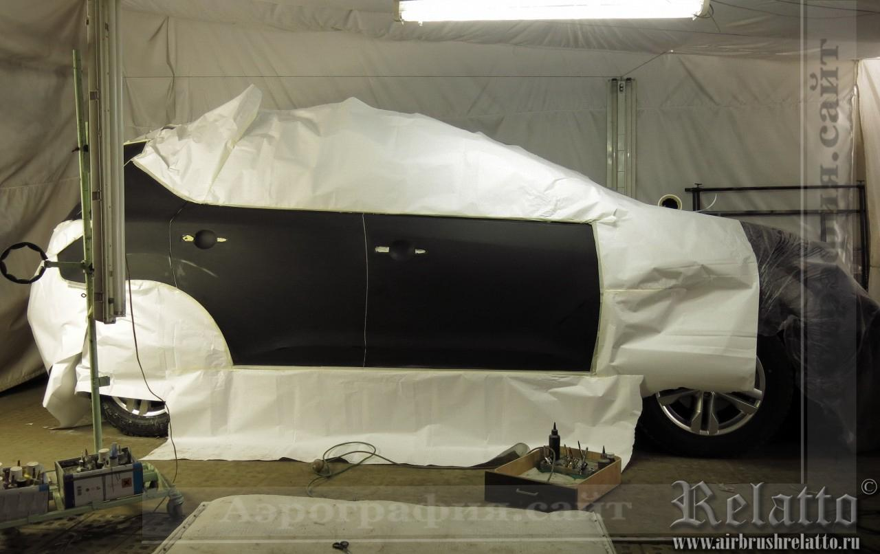 Оклейка автомобиля и маскировка