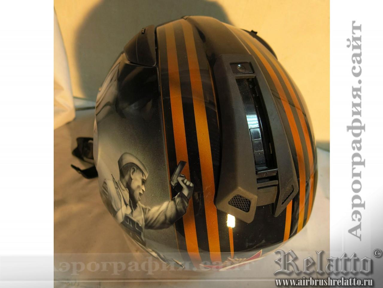 аэрография шлемов День победы