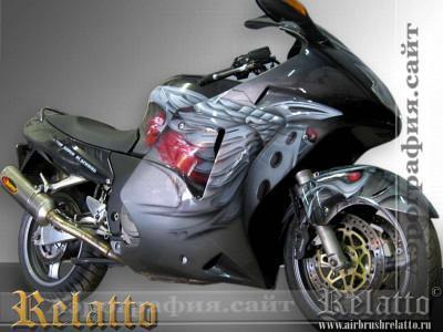 Аэрография Honda СBR 1100 Relatto