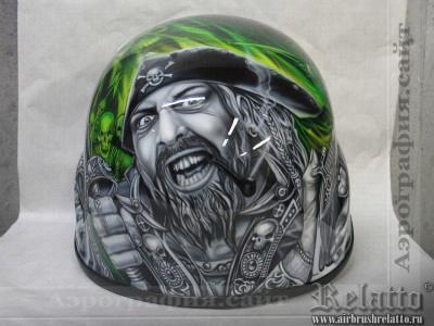 аэрография шлем Relatto