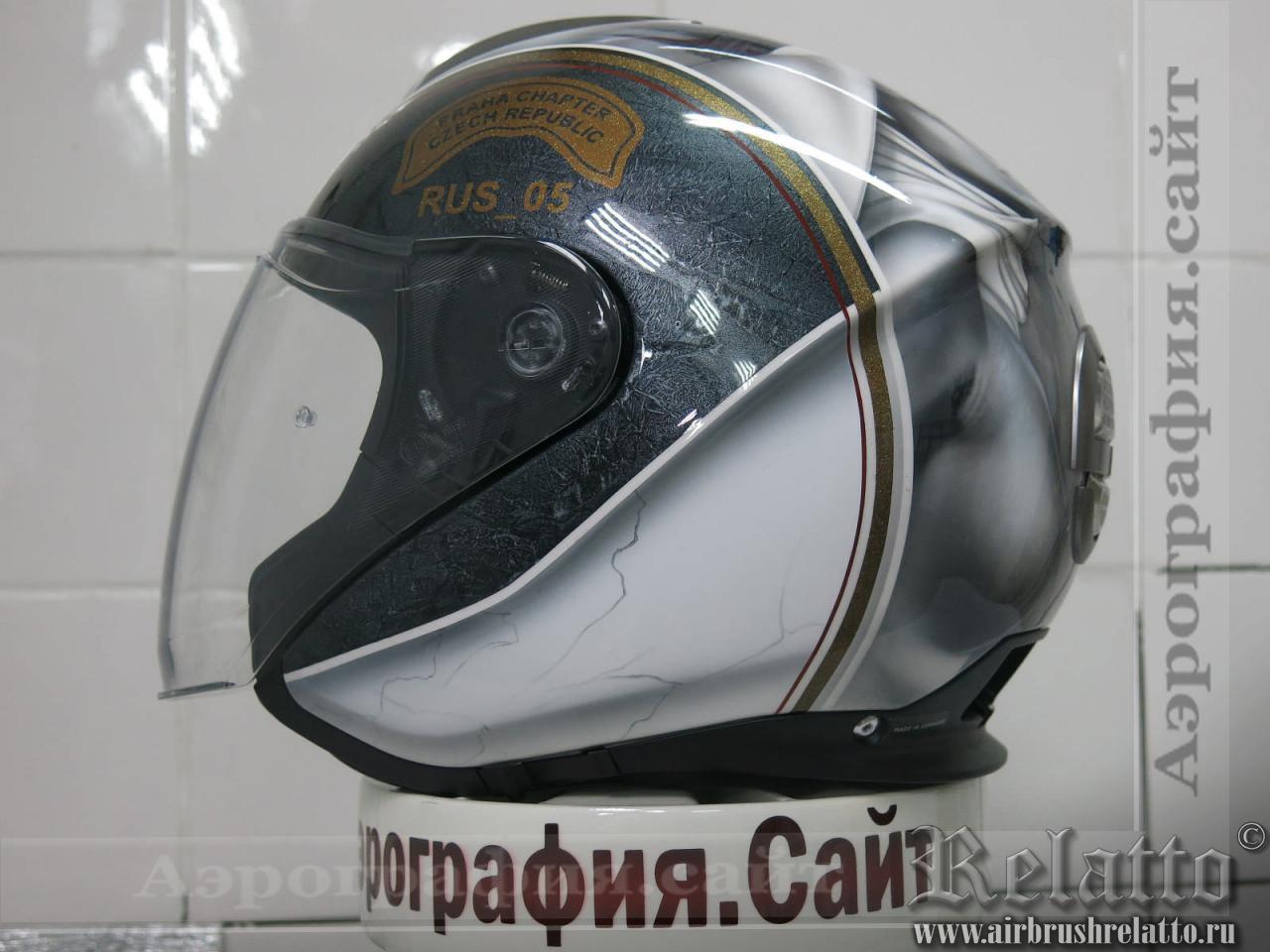 шлем Shuberth М1 с аэрографией