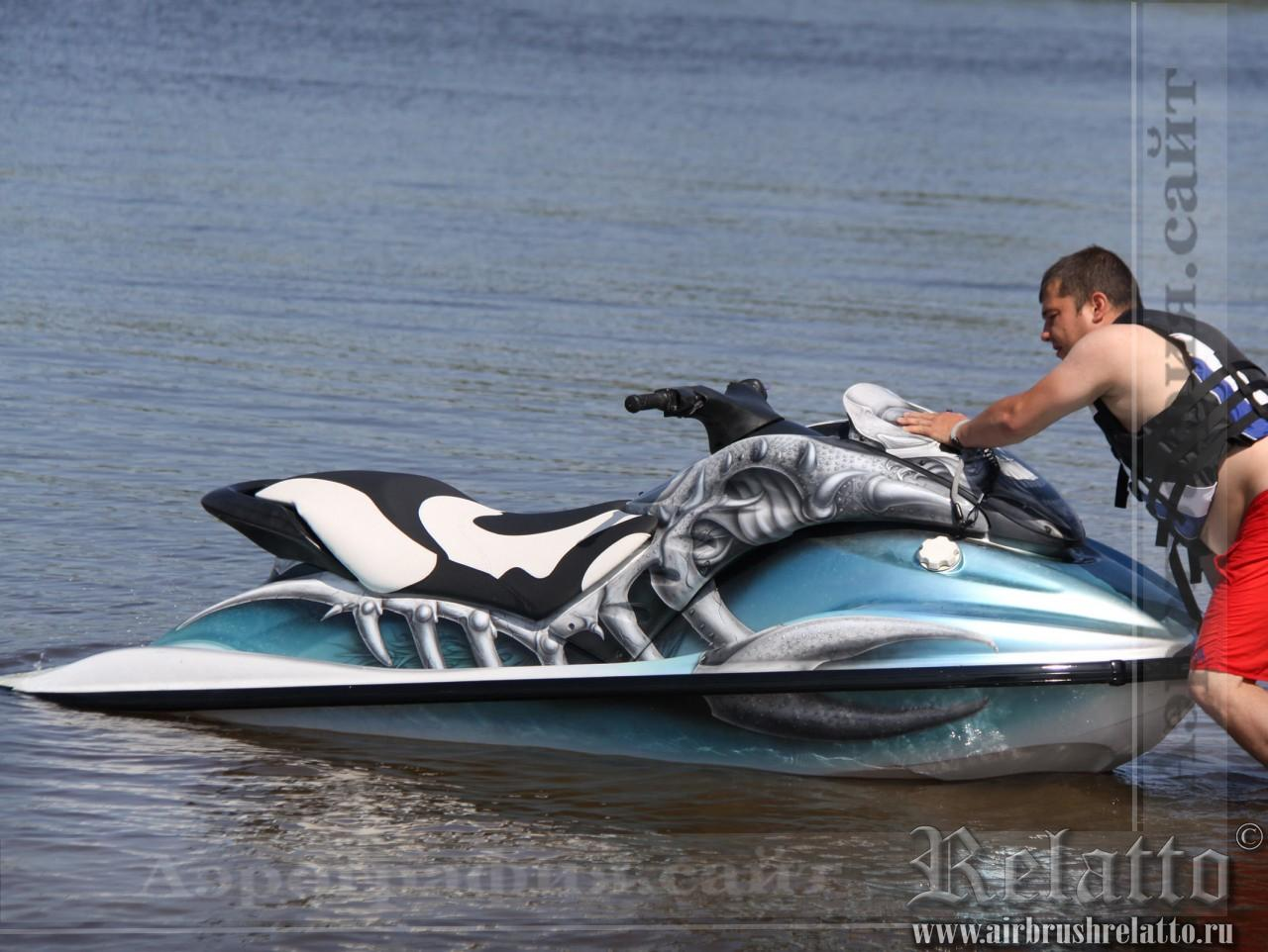 тюнинг водного мотоцикла