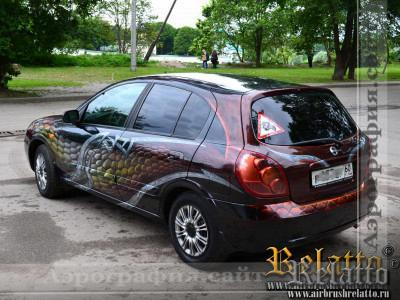 аэрография автомобиля Краснодар