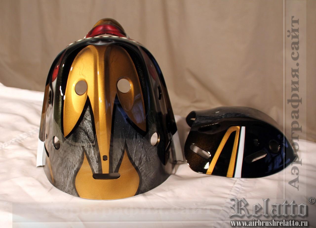 вратарский хоккейный шлем
