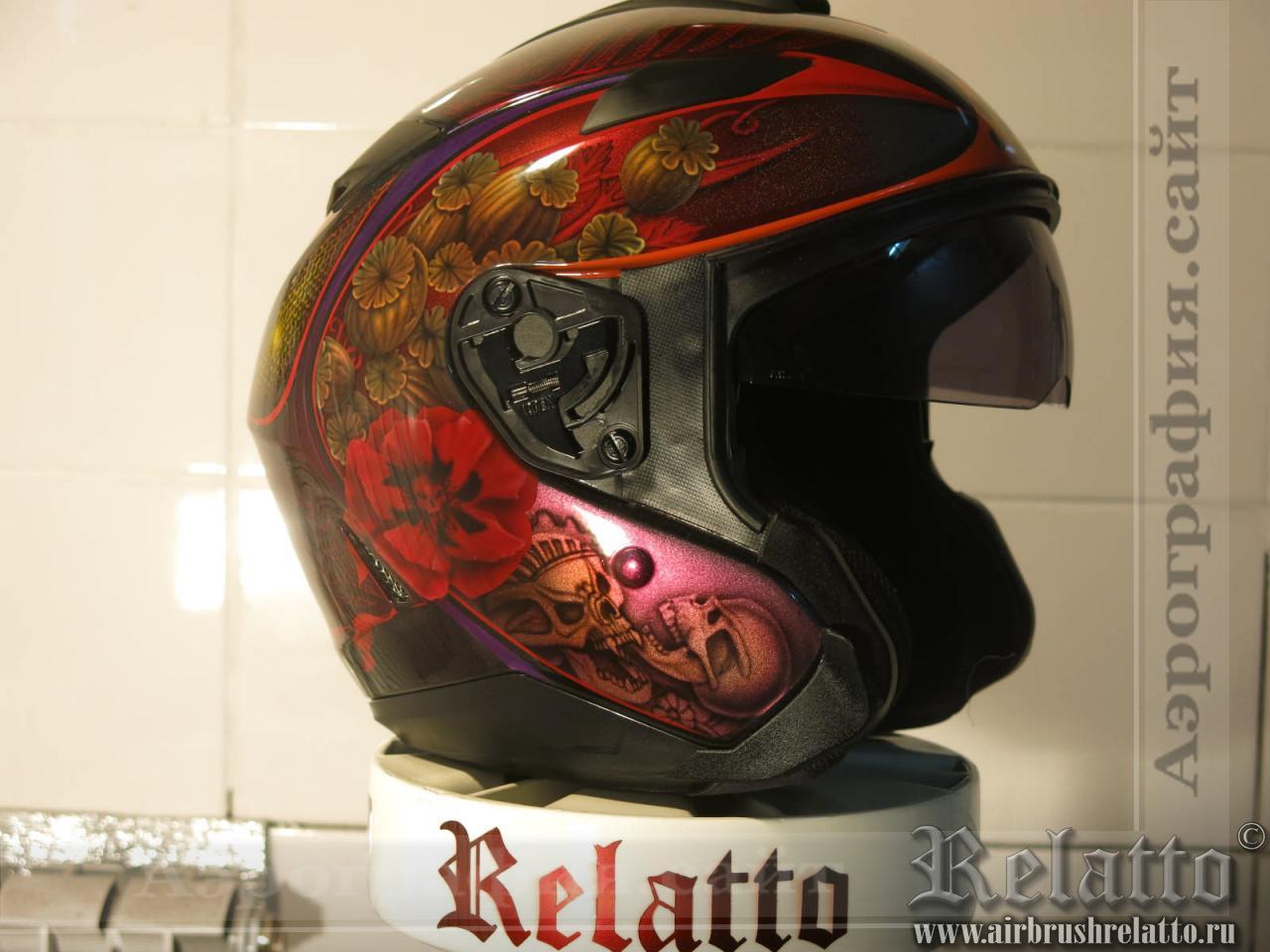 аэрография шлем HJC в Краснодаре