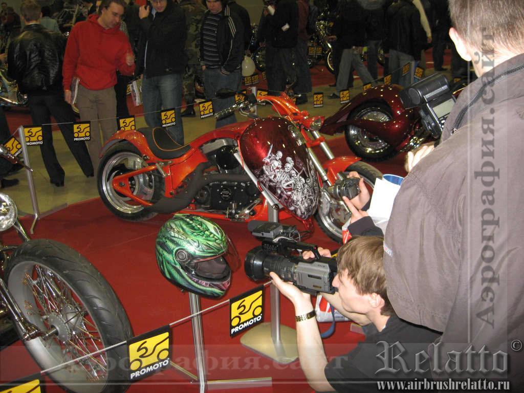 выставка Мотопарк 2008г. Москва
